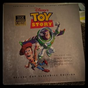 Sealed Toy Story Deluxe Cab Laserdisc Edition